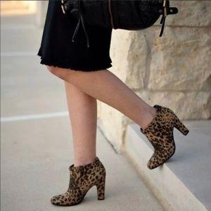 Sam & Libby Shoes - SAM&LIBBY Animal Print Leopard Ankle Boot